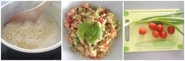 Quinoa Recept tomaat