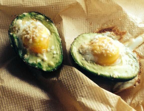 avocado ei recept